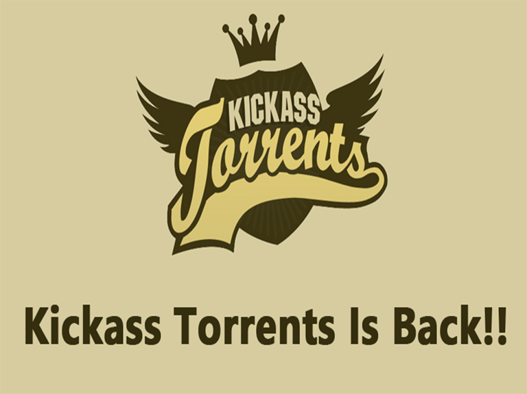 Kickass Torrent website returns