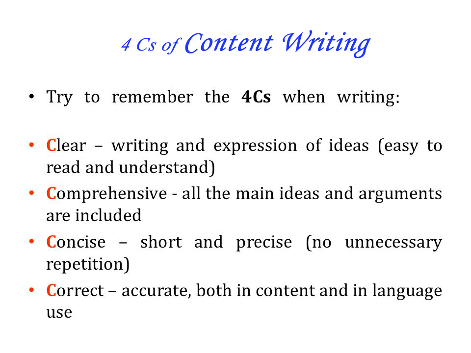 major-Cs-Content-Writing