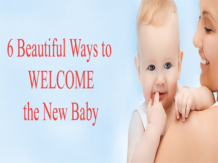 Ways to welcome New Baby