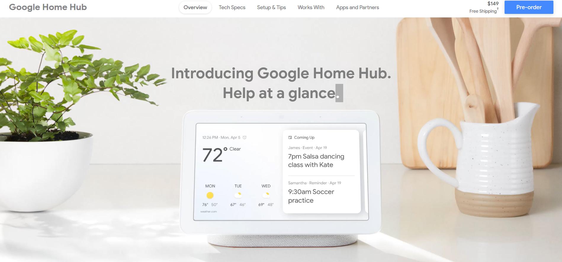 google-home-hub-pixel-3-unveiling